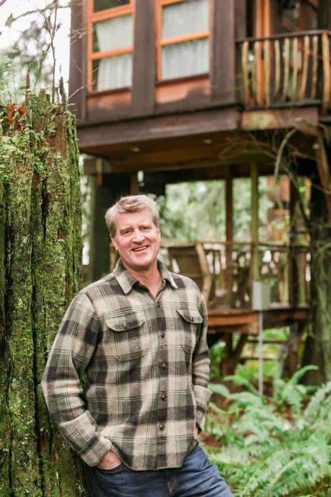 Keynote speaker Pete Nelson, The Treehouse Guy